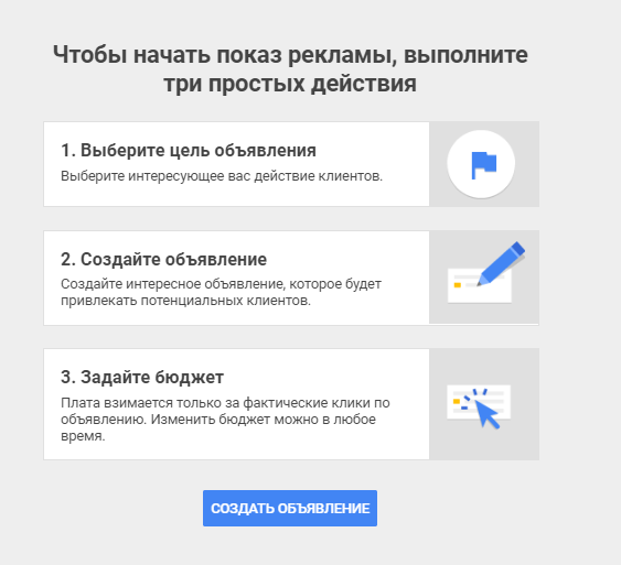 реклама в Google My Business